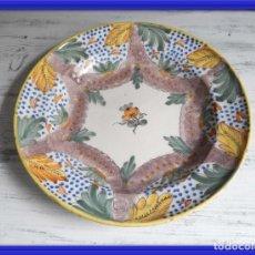 Antiguidades: PLATO DE CERAMICA ALCORA S. XVIII. Lote 164880750