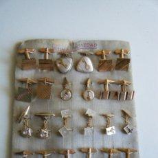 Antigüedades: GEMELOS - LOTE DOCE PARES DE GEMELOS AÑOS 60, 70.. Lote 164886230