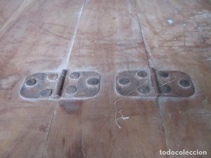 Antigüedades: Caja, Baúl, Arcón - Madera de Cedro - con Doble Tapa - Patas Torneadas - Ideal para Mesa de Centro - Foto 5 - 164887486