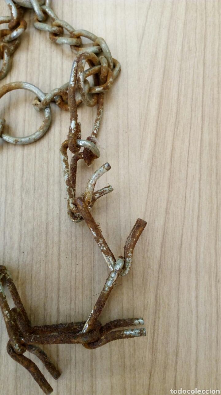 Antigüedades: Carranca o collar de Perro - Foto 4 - 164887904