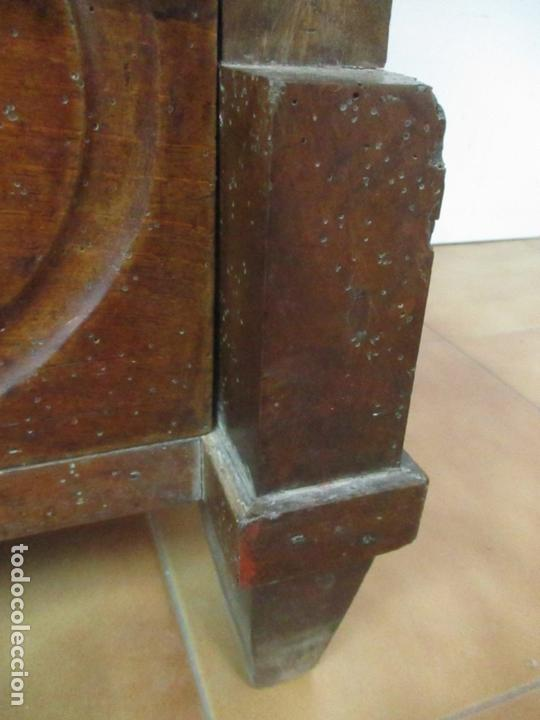 Antigüedades: Cómoda Isabelina (Ditada) - Madera de Nogal - con Llave - S. XIX - Foto 6 - 164889270
