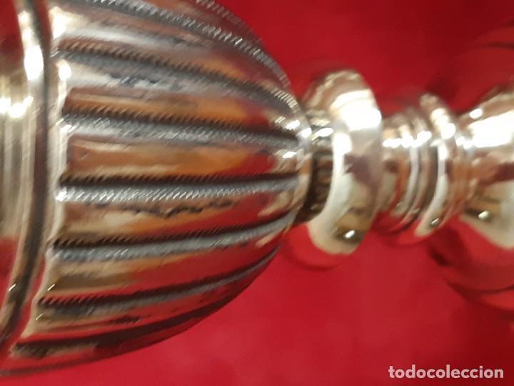 Antigüedades: Pareja de candelabros meneses - Foto 9 - 164924318
