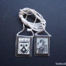 Antigüedades: ESCAPULARIOS ANTIGUOS. Lote 164933986
