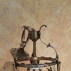 Antigüedades: FAROL BRONCE. Lote 164943220