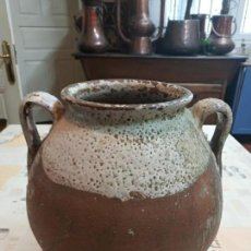 Antigüedades: ORZA VASCA SIGLO XIX 30X30XX25 CTMS. EXCELENTE ESTADO. Lote 164905650