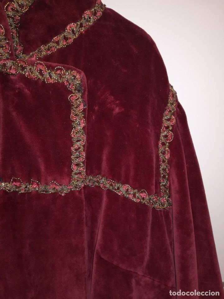 Antigüedades: Bata señorial Antigua hilo de oro o similar - Foto 5 - 164967322