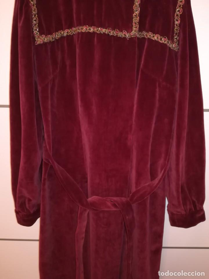 Antigüedades: Bata señorial Antigua hilo de oro o similar - Foto 6 - 164967322