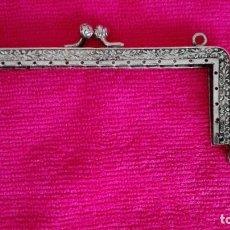Antigüedades: BOQUILLA PLATA BOLSO ANTIGUO. Lote 164982346