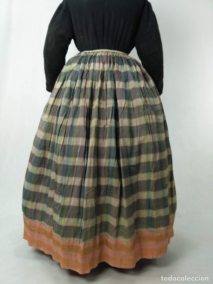 ANTIGUA SAYA DE SEDA (Antigüedades - Moda y Complementos - Mujer)