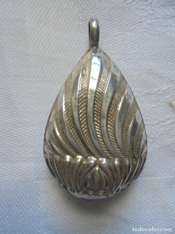 Antigüedades: Sonajero antiguo, de plata - Foto 2 - 165011970