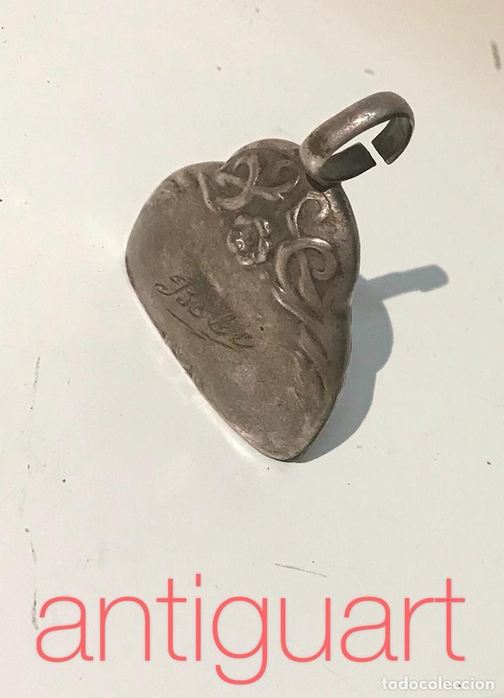 Antigüedades: Campanilla bebé de plata 925. Principios del siglo XX - Foto 6 - 153794734
