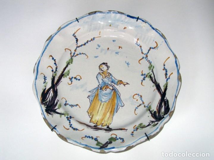 Antigüedades: Plato de cerámica, Savona (Liguria, Italia) s. XVIII - Foto 2 - 134046930