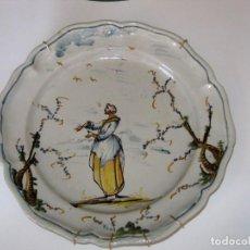Antigüedades: PLATO DE CERÁMICA, SAVONA (LIGURIA, ITALIA) S. XVIII. Lote 165060438