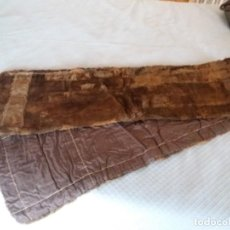 Antigüedades: CHAL PIEL NOBLE. DECO. CIRCA 1930. 3M ESTADO MUY BUENO.. Lote 165070122