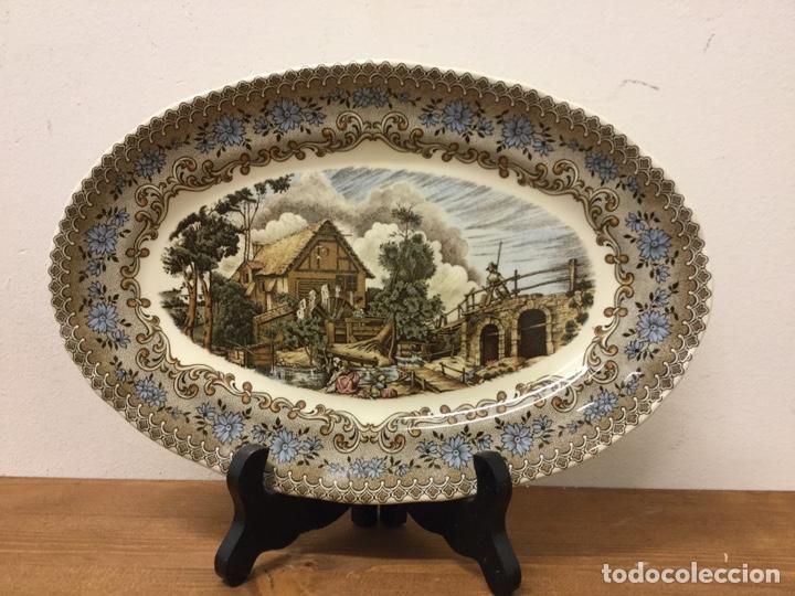 FUENTE BANDEJA LA CARTUJA PICKMAN SEVILLA (Antigüedades - Porcelanas y Cerámicas - La Cartuja Pickman)