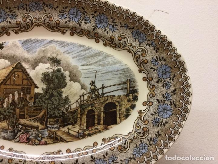 Antigüedades: FUENTE BANDEJA LA CARTUJA PICKMAN SEVILLA - Foto 4 - 165083746