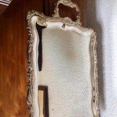 Antigüedades: BANDEJA PLATA DE LEY PEDRO DURAN. Lote 165084466