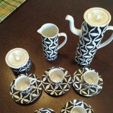 Antigüedades: JUEGO CAFE CASTRO SARGADELOS 5 SERVICIOS. Lote 165108306