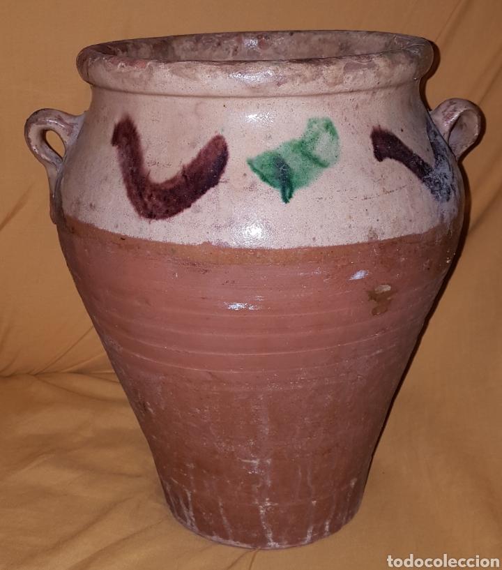Antigüedades: Antigua orza cerámica ubeda - Foto 2 - 165108897
