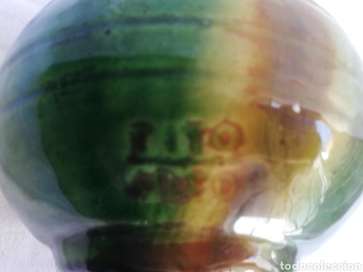 Antigüedades: JARRON CERAMICA VERDE VIDRIADA. TITO UBEDA. - Foto 9 - 165109982