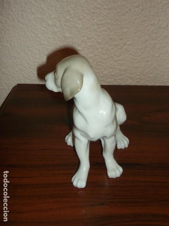 Antigüedades: Perro de porcelana Nao Lladró. - Foto 2 - 165119734