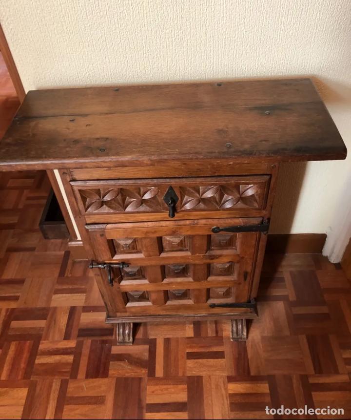 MUEBLE MADERA MACIZA (Antigüedades - Muebles Antiguos - Auxiliares Antiguos)