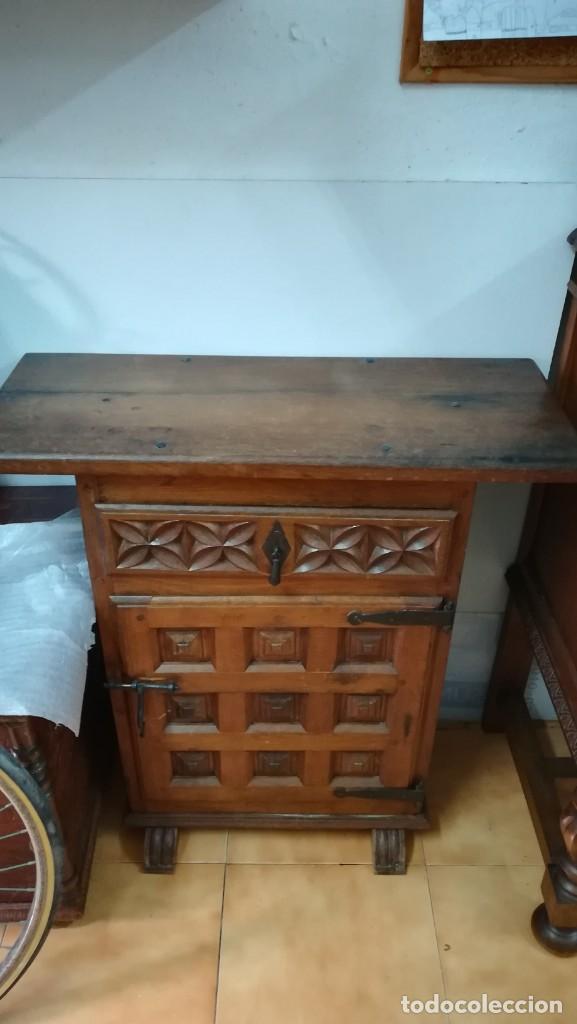 Antigüedades: Mueble madera maciza - Foto 2 - 165132886