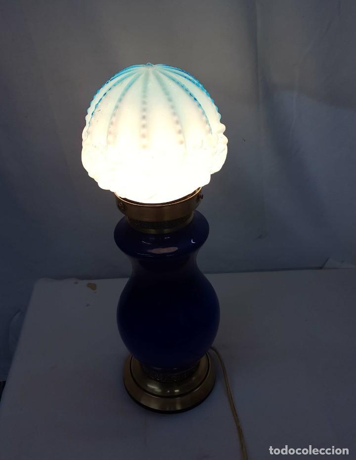 Antigüedades: lampara de sobremesa - Foto 3 - 165136590