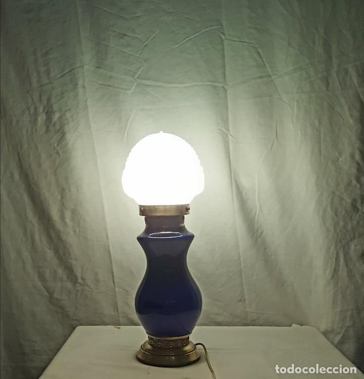 Antigüedades: lampara de sobremesa - Foto 6 - 165136590
