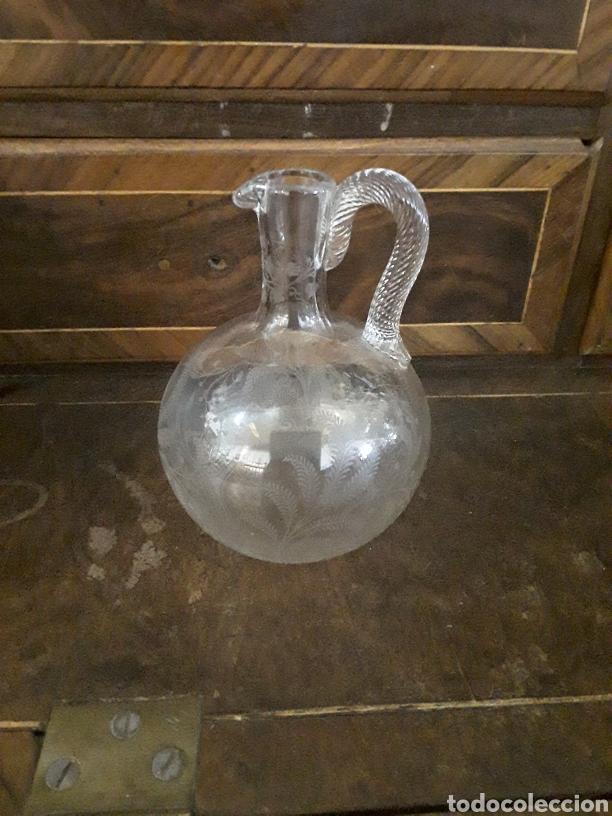 JARRITA DE CRISTAL (Antigüedades - Cristal y Vidrio - La Granja)