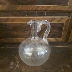 Antigüedades: JARRITA DE CRISTAL. Lote 165144669