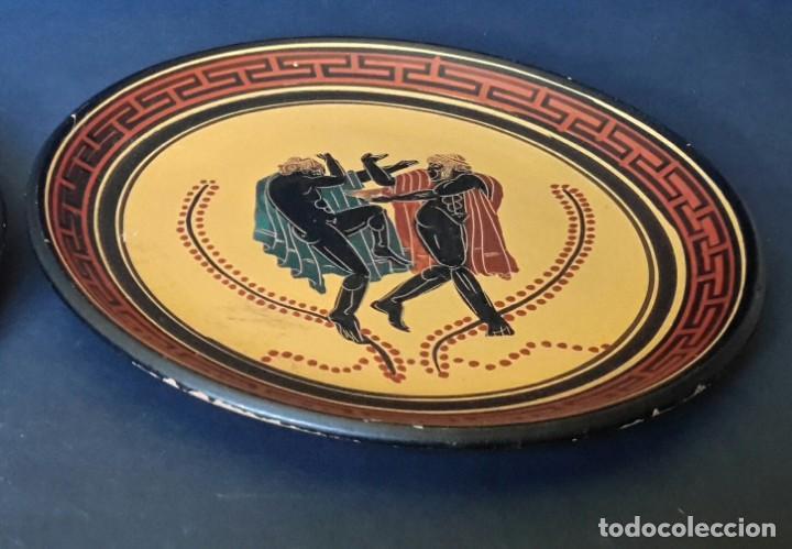 Antigüedades: Plato de terracota griego - Foto 2 - 165157686