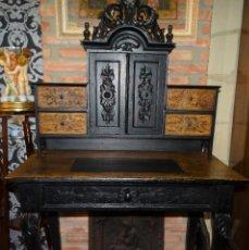 Antigüedades: ESCRITORIO CONTADOR. ANTIGUO. ORIGINAL.. Lote 165189938