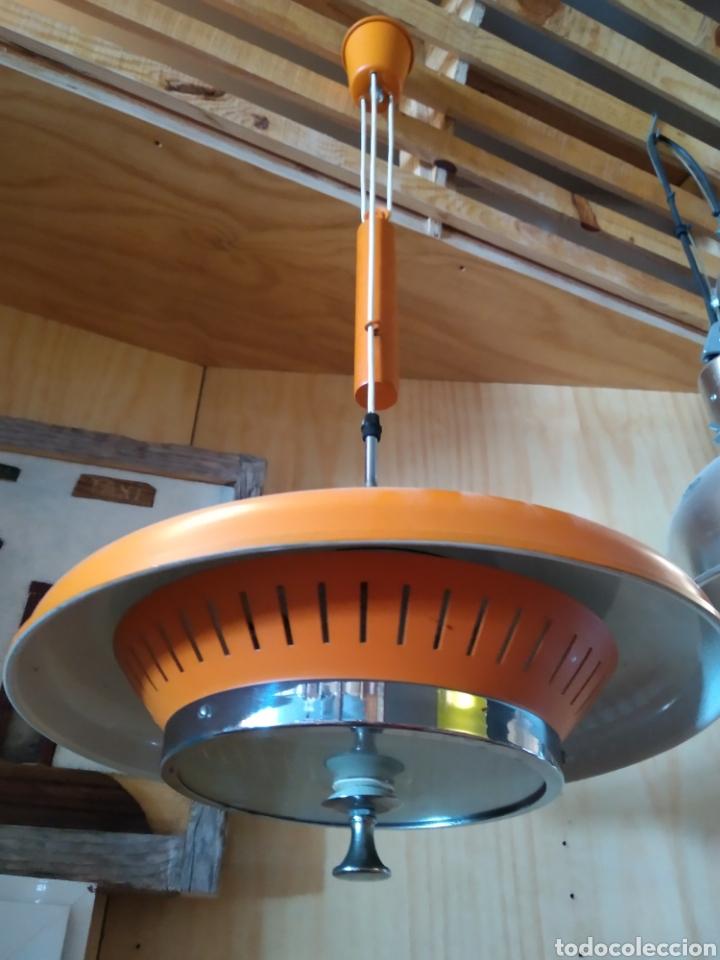 LAMPARA ANTIGUA AÑOS 60/70 (Antigüedades - Iluminación - Lámparas Antiguas)