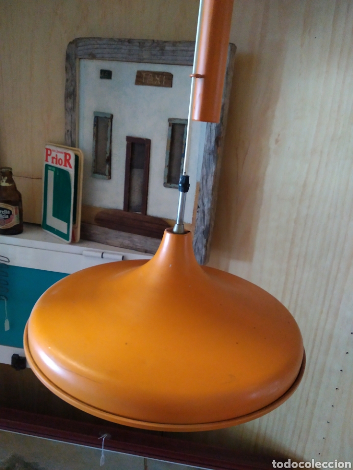 Antigüedades: LAMPARA ANTIGUA AÑOS 60/70 - Foto 2 - 165217741