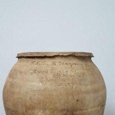 Antigüedades: TINAJA TINILLO MANCHEGO.. Lote 165221090