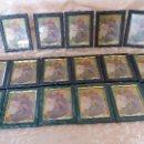 Antigüedades: GRAN LOTE DE 17 MARCOS O PORTAFOTOS DE MADERA, NUEVOS, 21 X 16 CMS. Lote 165252578