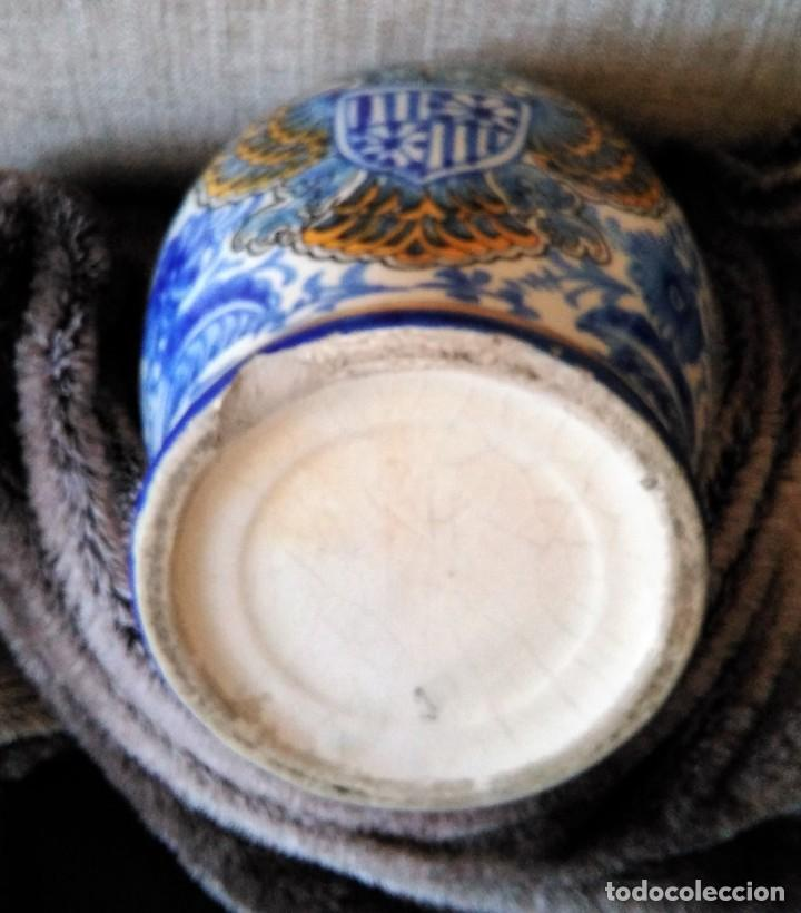 Antigüedades: ANTIGUO JARRON DE TALAVERA, MANISES - Foto 10 - 194865956