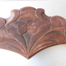 Antigüedades: COPETE MADERA MODERNISTA PARA CAMA. Lote 165260106