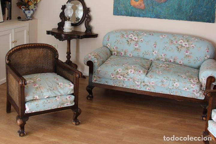 TRESILLO (Antigüedades - Muebles Antiguos - Sofás Antiguos)