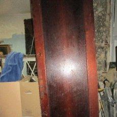 Antiques - antigua puerta siglo XIX grande alta madera de caoba 228 x 63 x 4 cms - 165276254