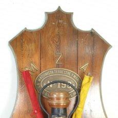 Oggetti Antichi: FERROCARRIL. COMPOSICIÓN FERROVIARIA. MZA. LA MAQUINISTA TERRESTRE. 1925.. Lote 165290622
