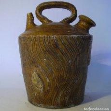Antigüedades: BOTIJO TERRISSA CATALANA DE TRONCO XIX – XX . Lote 165291818