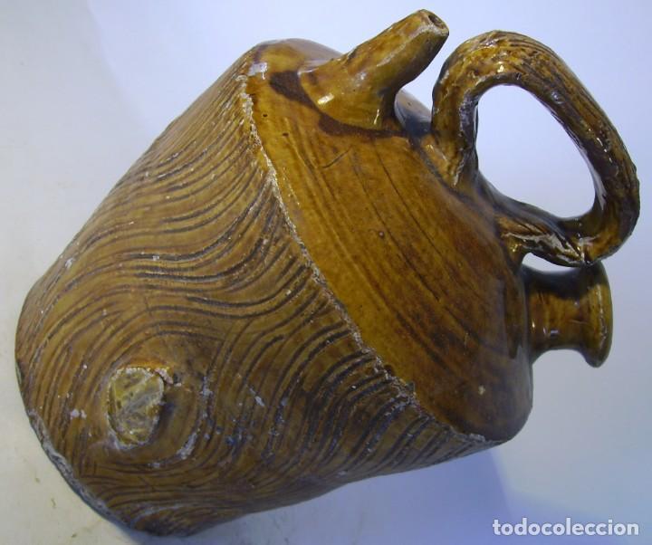 Antigüedades: BOTIJO TERRISSA CATALANA DE TRONCO XIX – XX - Foto 12 - 165291818