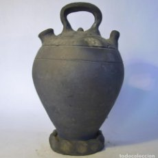 Antigüedades: BOTIJO TERRISSA CATALANA DE VERDÚ XX . Lote 165292266