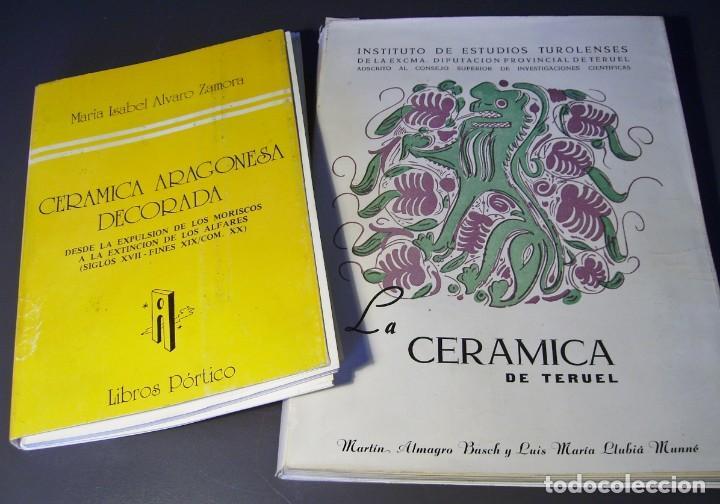 Antigüedades: PLATO CERÁMICA ARAGONESA DE TERUEL XVIII – XIX - Foto 10 - 165293138