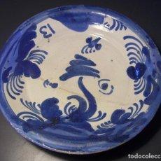 Antigüedades: PLATO CERÁMICA DE MUEL XIX . Lote 165293518