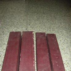 Antigüedades: LOTE DE 4 ANTIGUOS ROLLOS PARA PIANOLA.. Lote 165302914