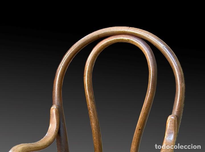 Antigüedades: Silla infantil. Madera. Siglo XIX. - Foto 2 - 165308978