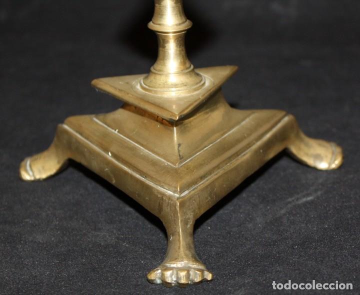 Antigüedades: CRUCIFIJO EN BRONCE DEL SIGLO XVIII - Foto 9 - 165314406